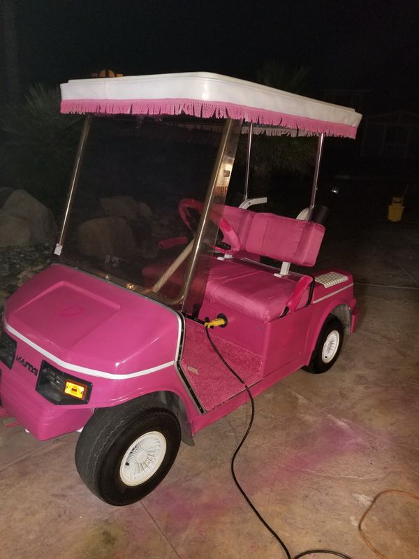 Hyundai Golf Cart Runs Excellent For In Victorville Ca Offeruprhofferup Charger Reviews