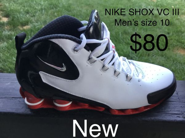 d0948b6aad6 NEW NIKE SHOX VC III Men s size 10 sneakers shoes (see all pics) (Clothing    Shoes) in Chesapeake