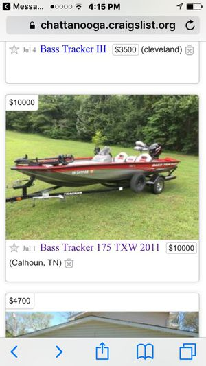 2011 Bass Tracker Boat Sold For Sale In Calhoun Tn Offerup