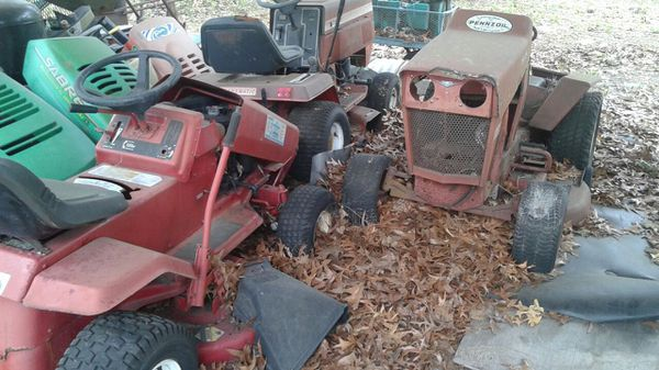 Three Old Riding Lawn Mowers For Sale In Hudson Fl Offerup