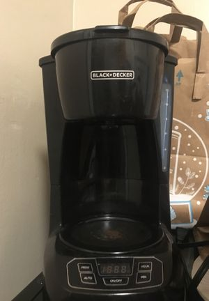 Black and decker coffee machine for Sale in San Francisco, CA