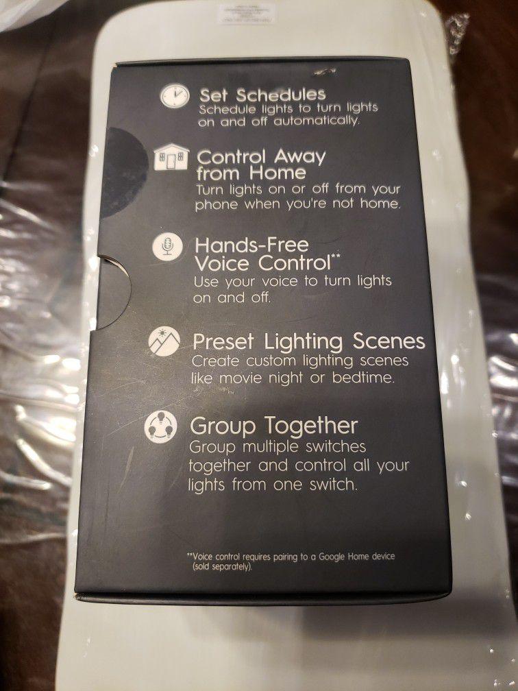 GE motion Sensing +dimmer Smart Switch