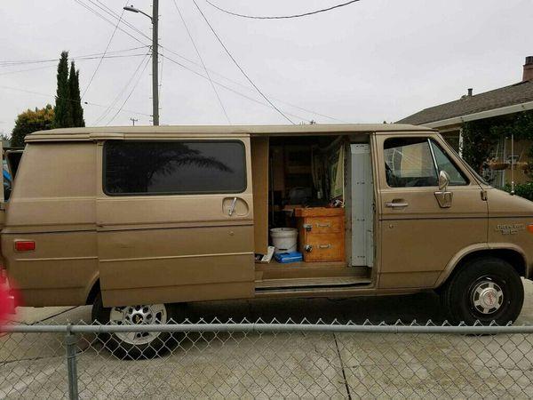 Chevy Work Van For Sale In Newark CA