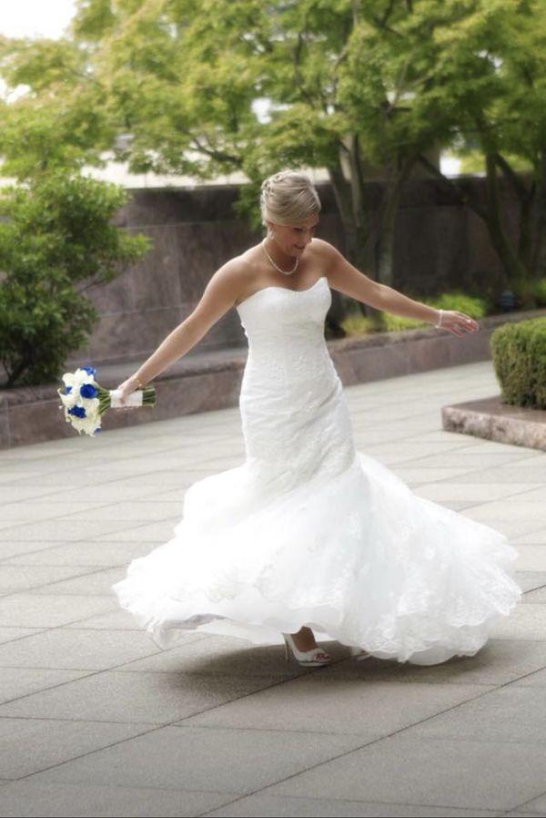 Casablanca Wedding Dress For Sale In Covington Wa Offerup