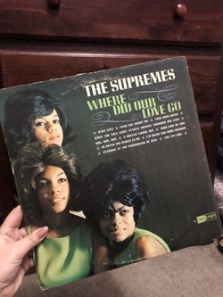 Where Did Our Love Go by The Supremes vinyl Thumbnail
