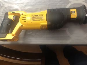 New dewalt reciprocating saw 20 volt (tool only) for Sale in Darnestown, MD