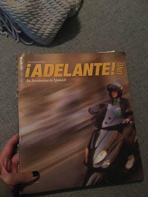 Spanish book adelante uno for Sale in Clovis, CA