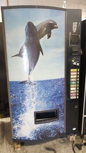 As is blowout sale firm price soda vending machine for Sale in Gaithersburg, MD