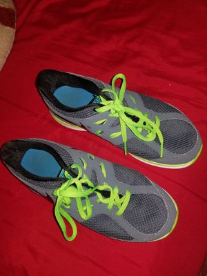 Boy nike shoes size 4.5y And boy pants size 14 for Sale in Woodbridge, VA