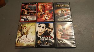 Jet Li movie pack for Sale in Philadelphia, PA