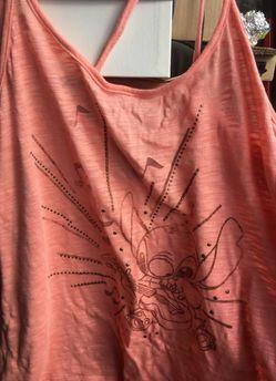 Stitch graphic blouse, XL Thumbnail