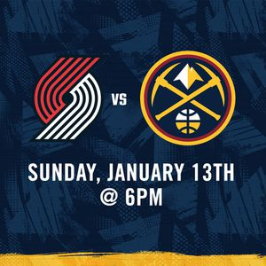 Nuggets vs Blazers Tickets for Sale in Denver, CO