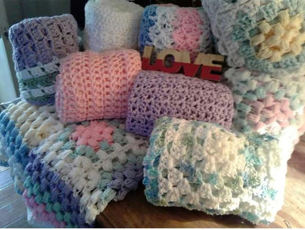 Baby Blankets Hand Crocheted For Sale In Santa Cruz Ca Offerup