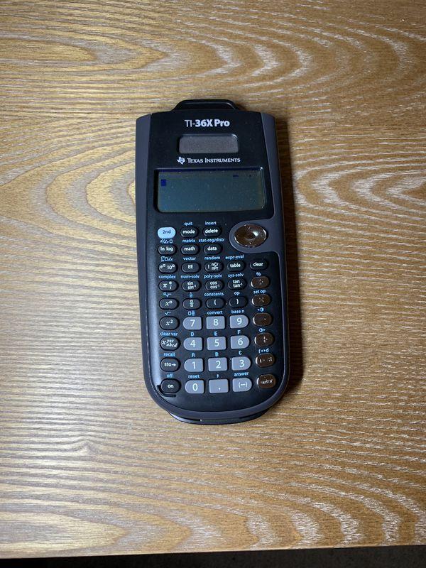 TI-36X Pro Calculator for Sale in La Mesa, CA - OfferUp