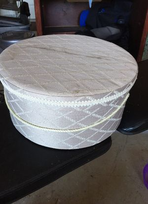 Fabric covered hat box for sale  Centerton, AR