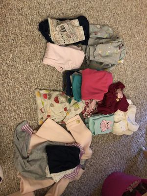 Photo Baby girl 6-9 and 12 month clothes