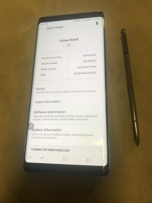 Samsung galaxy note 8 64gb for Sale in Kent, WA