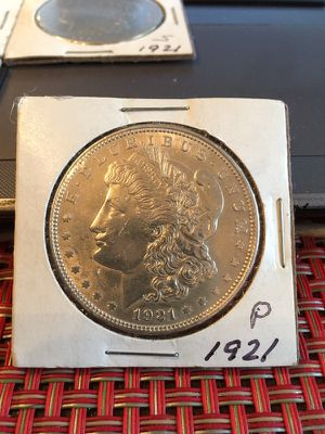1921 Morgan Silver Dollars, 3 S and 1 P for Sale in Chicago, IL