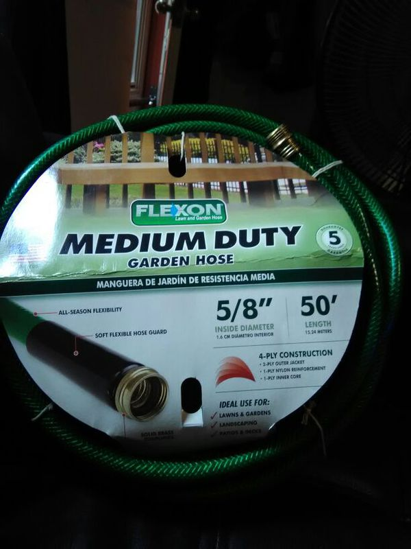 92a231f2fd7 NEW - 50  Med Duty Water Hose Green for Sale in Boston