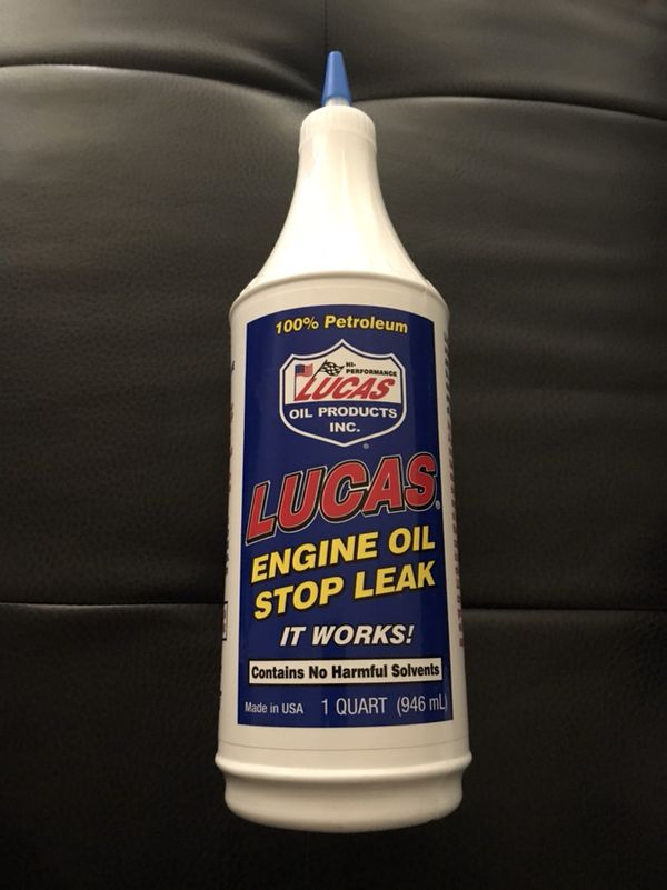 Brand new never opened Lucas engine oil stop leak for Sale in Fort  Lauderdale, FL - OfferUp