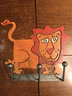 Metal Lion-3 Hanger for Wall for Sale in Fairfax, VA