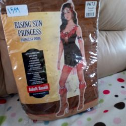 Costume...Rising Sun Princess Adult Small Thumbnail