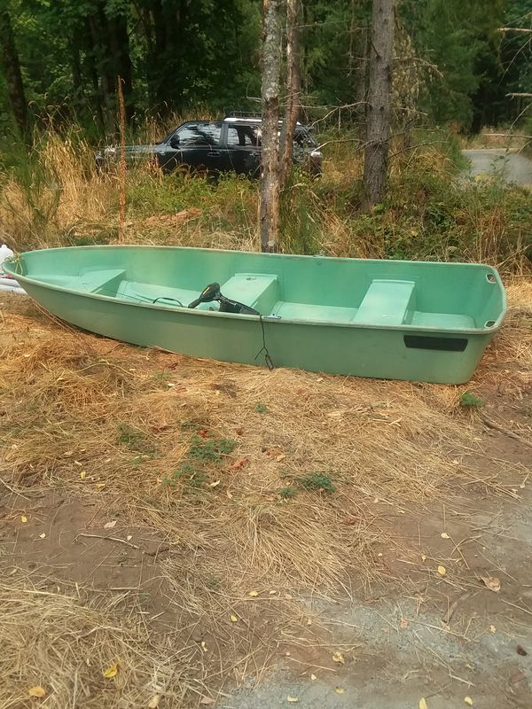 Sears Gamefisher 3 Person 12 Ft Fiberglass Boat For Sale In Rainier