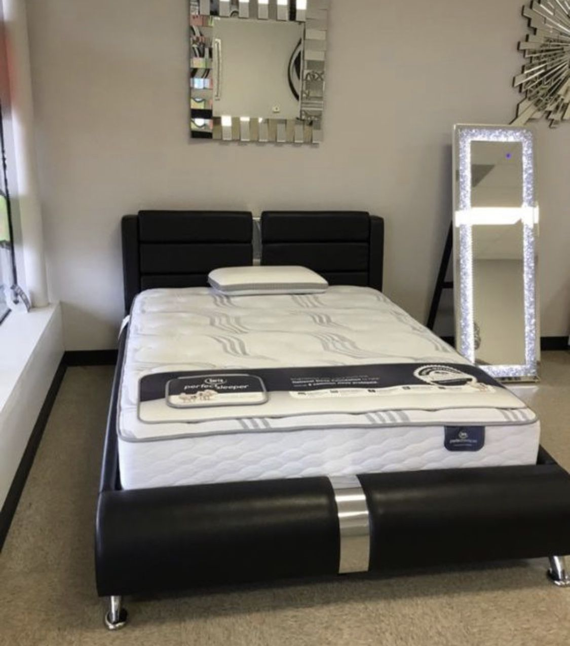 BRAND NEW Platform Bed Frame In Queen / Eastern King / California King Size