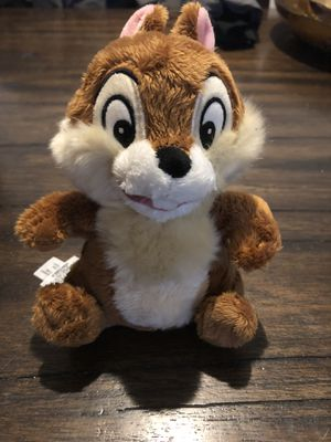 Chipmunk plush toy from Disney for Sale in North Potomac, MD