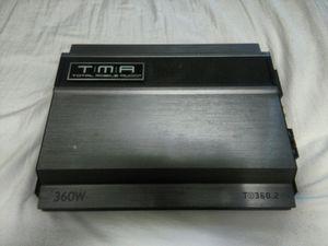 Total Mobile Audio 360 Watt Car Stereo Amplifier for Sale in Portland, OR