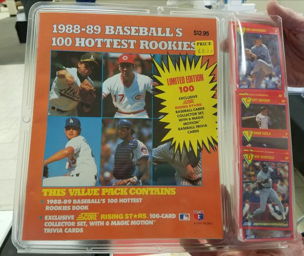 1988 1989 Score Superstars Limited Edition 100 Baseball Card Set For Sale In Saint Paul Mn Offerup