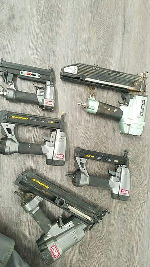 150 4 senco nail gun 1 Hitachi stapler up to 2 in for Sale in Ceres, CA