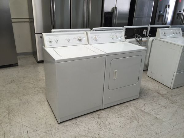 Kenmore 80 Series Heavy Duty Washer And Dryer Set For Sale