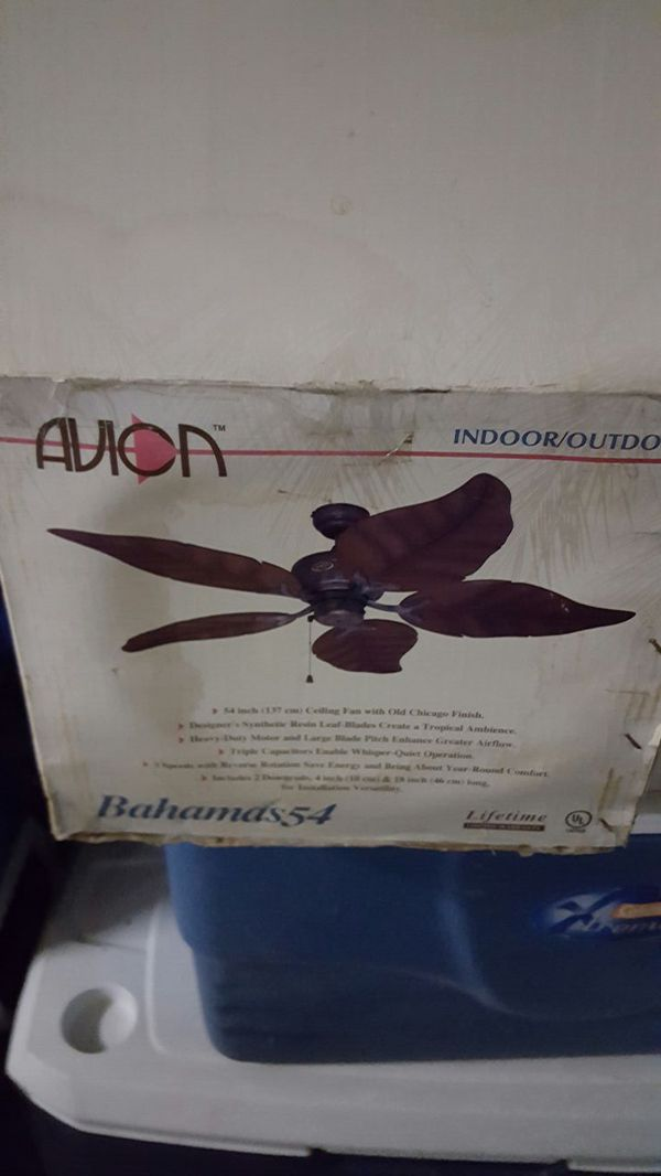 Avion bahamas 54 ceiling fan household in chandler az offerup aloadofball Choice Image