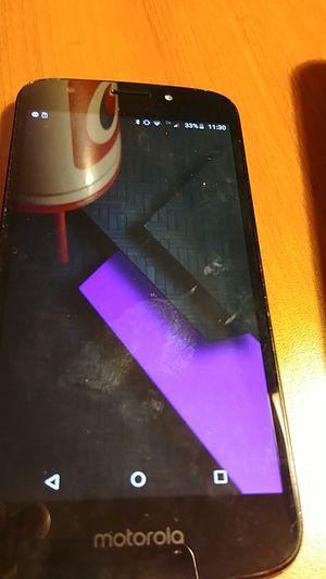 Motorola Moto e5 play.0, used for sale  Tulsa, OK