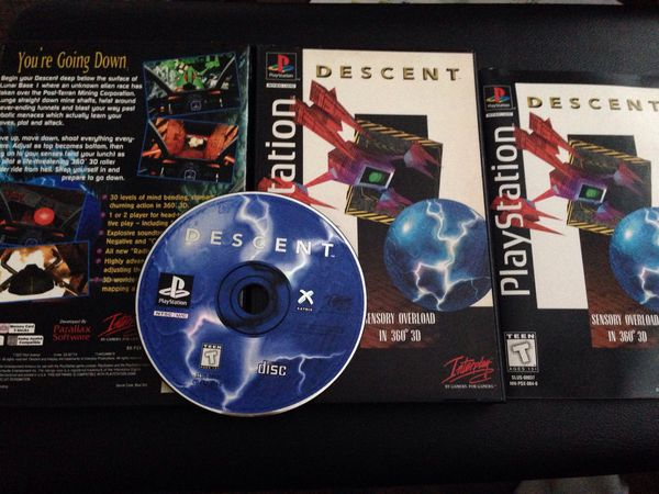 Descent PS1 Game - Complete Longbox for Sale in Port Orchard, WA - OfferUp