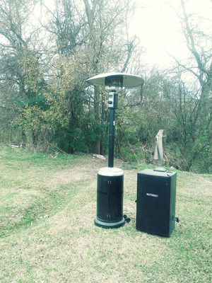 Outside propane heater electric smoker for Sale in Baytown, TX