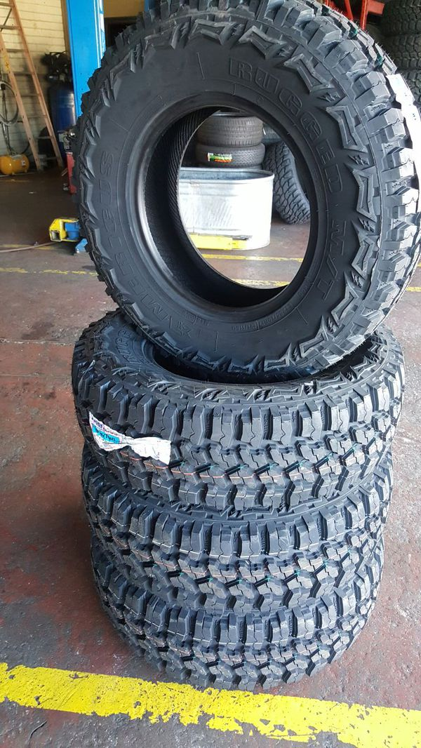 Used Auto Parts Phoenix >> 2857516 americus rugged mud tires $579 for Sale in Phoenix, AZ - OfferUp