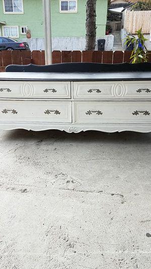 Wood dresser for Sale in Coronado, CA