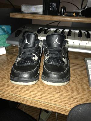 Nike Air Jordan 4 IV Retro Sz 7C LS TD Toddler Black Grey Cement for Sale in Washington, DC