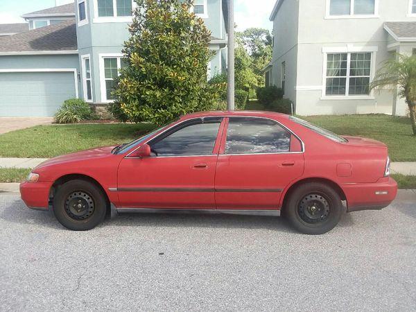 1996 Honda Accord Lx Sedan For Sale In Davenport Fl Offerup