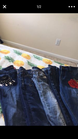 Kids clothes very good condition very cheap pants 2$ shoes 5$ for Sale in Hyattsville, MD