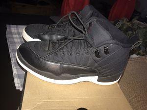 """Air Jordan Retro 12 """"Black Nylon"""" size 9.5 mens for Sale in Silver Spring, MD"""
