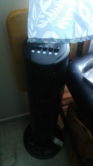 Black tower fan. Beat the heat! for Sale in Portland, OR
