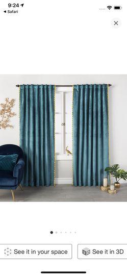 Opal house curtain panels, set of two Thumbnail