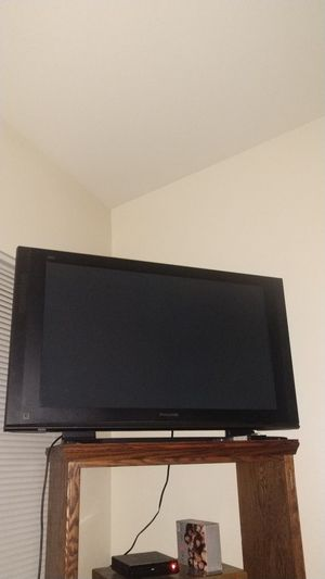 9377734998c2 55 inch Plasma TV with DVD player plus DVD player and 30 dvds for Sale in