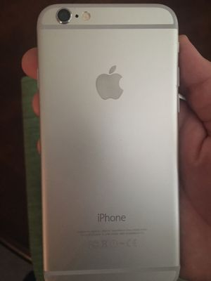 Iphone 6 64gb silver for Sale in Woodbridge, VA