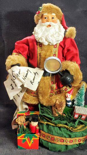 Charming Santa Paper Mache Vintage Christmas Decoration for Sale in Danbury, CT