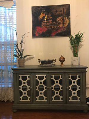TV Stand Green Cabinet for Sale in Ashburn, VA