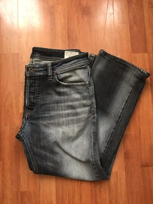 Photo DIESEL VIKER 0085K STRETCH SIZE 34 X 30 MENS JEANS. Condition is Pre-owned. See pictures ask questions and make an offer!